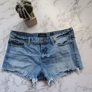 Lucky Brand Frayed Cut Off Short